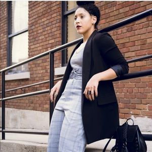 Pants - Urban Outfitters Plaid Corset Jumpsuit